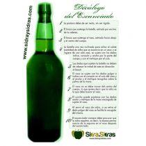 Decálogo del escanciador de sidra asturiana