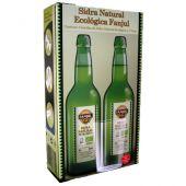 Sidra Fanjul pack dos botellas y vaso de sidra